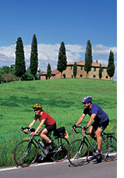 Tuscany and Umbria biking photo